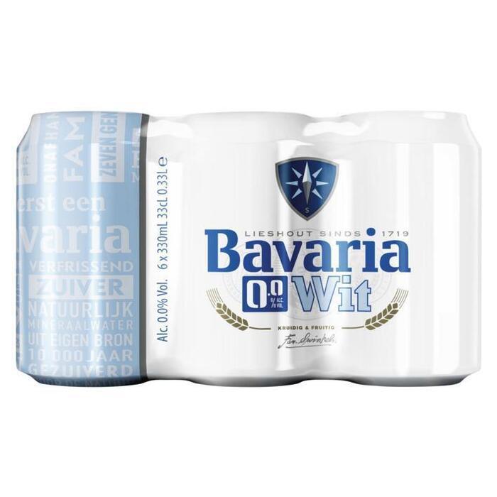 Bavaria 0.0% Premium Wit (rol, 6 × 33cl)