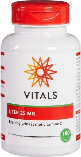 IJzerbisglycinaat 25 mg