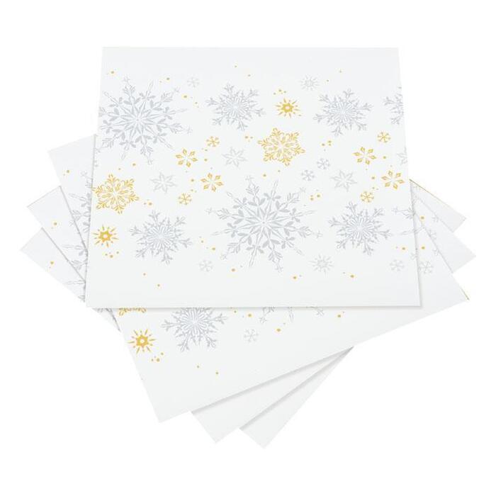 AH Servet 40 cm snowflakes