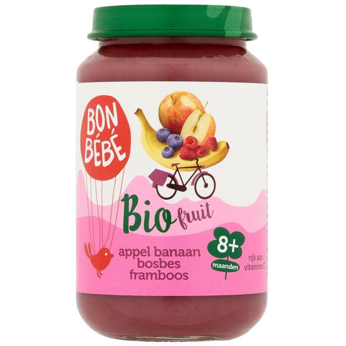 F0803 appel-banaan-bosbes-framboos (200g)