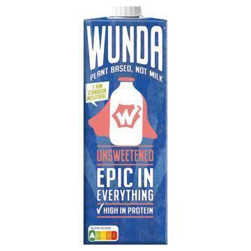 WUNDA Plant based Not milk Unsweetened 950 ml (0.95L)