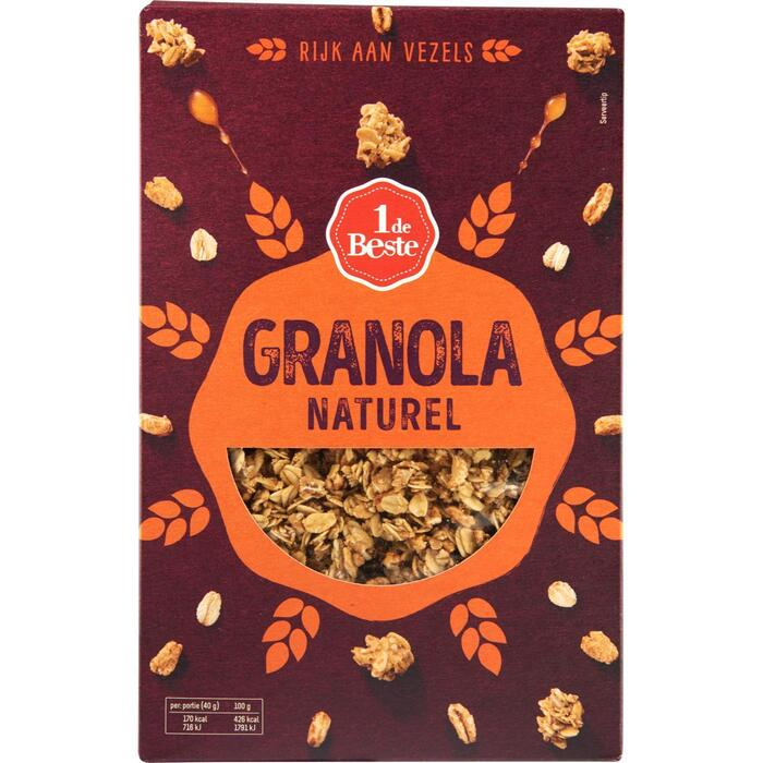 Granola havervlokken (350g)