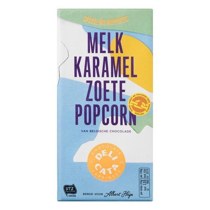 Delicata Reep melk-karamel-zoete popcorn (180g)
