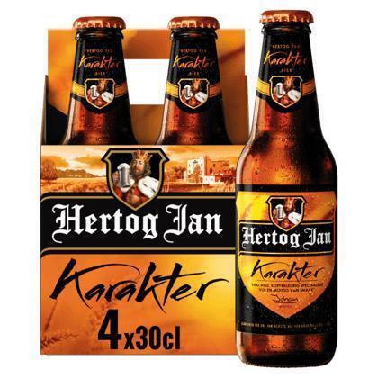 Hertog Jan Karakter Flessen 4 x 30 cl (rol, 1.2L)