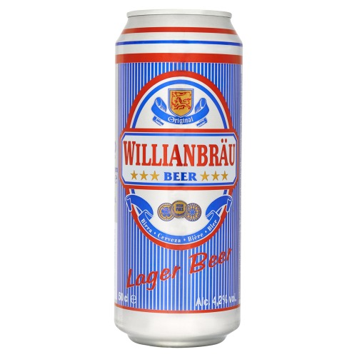 Willianbräu Lager Beer (rol, 0.5L)