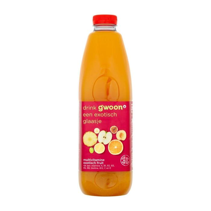 g'woon Multivitamine exotisch fruit (1.5L)