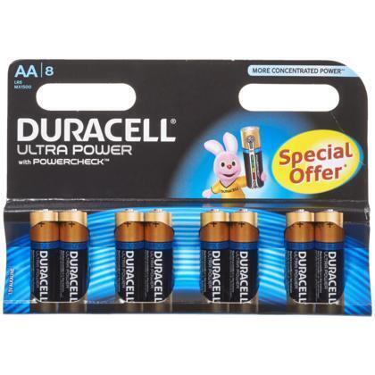 Ultra power AA 4 + 4 gratis (8 st.)