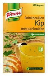 Knorr Drinkbouillon Kip Tuinkruid.   (bak, 80 × 6.1g)