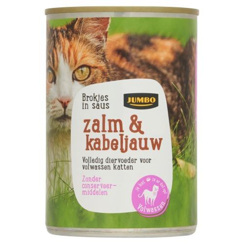 Jumbo Brokjes in Saus met Zalm & Kabeljauw 405g (405g)