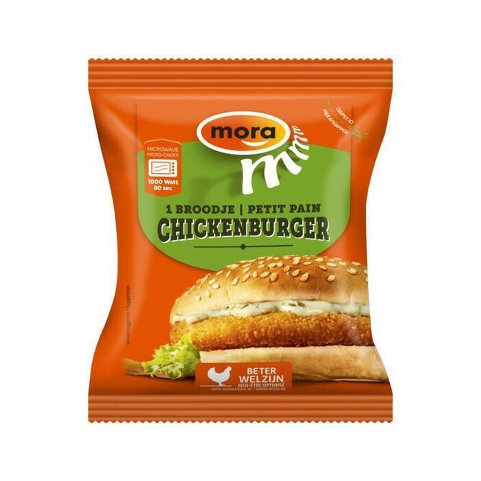 Broodje chickenburger (130g)