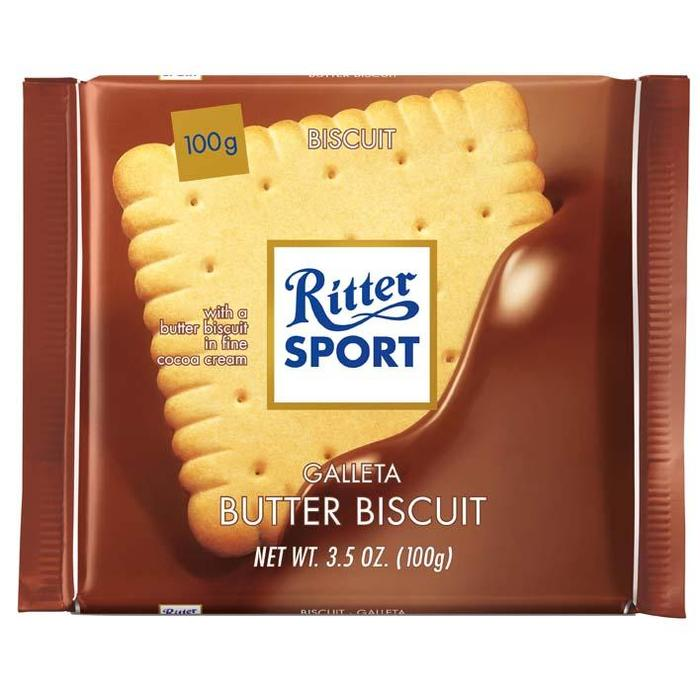 Ritter Sport boter biscuit (100g)