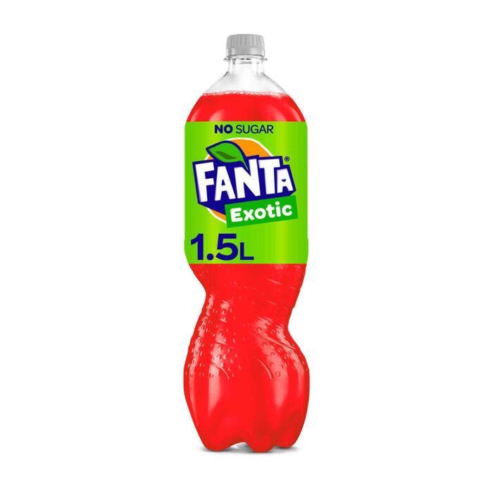 Fanta Exotic zero (rol, 1.5L)