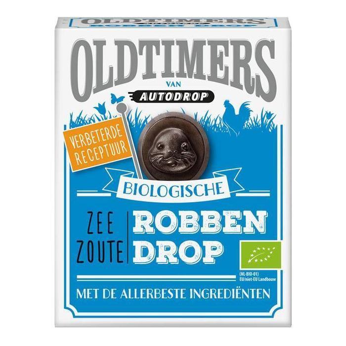 Oldtimers Biologische zee zoute robben drop (180g)