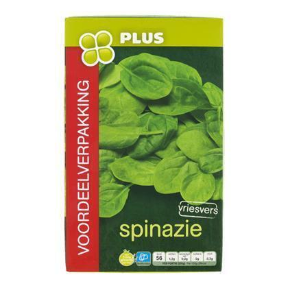Spinazie (Doos, 750g)