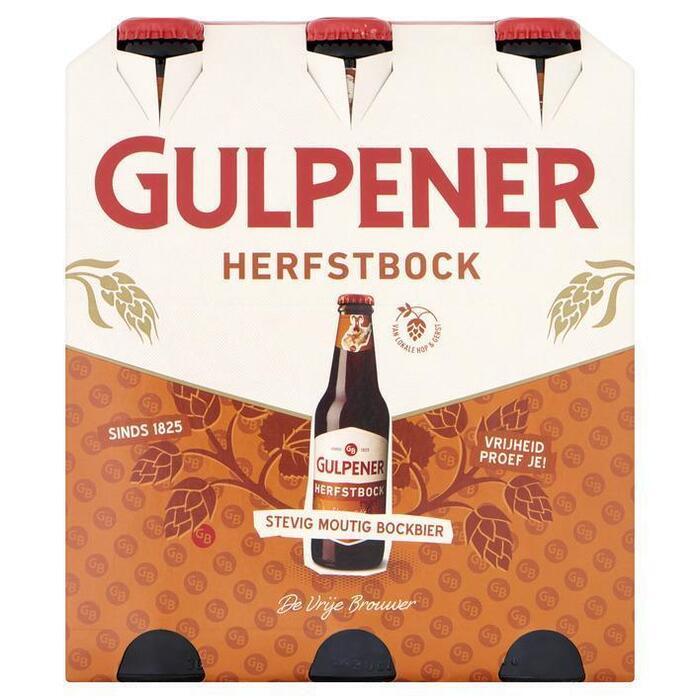 Gulpener Herfstbock 6x30 cl (rol, 6 × 30cl)