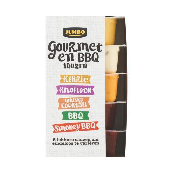 Jumbo Gourmet en BBQ Sauzen 5 x 80ml (5 × 80ml)