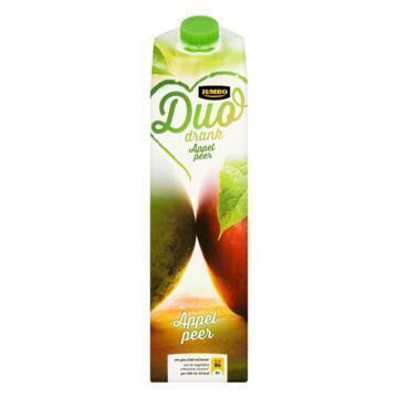 Jumbo Duo Drank Appel Peer 1L (1L)