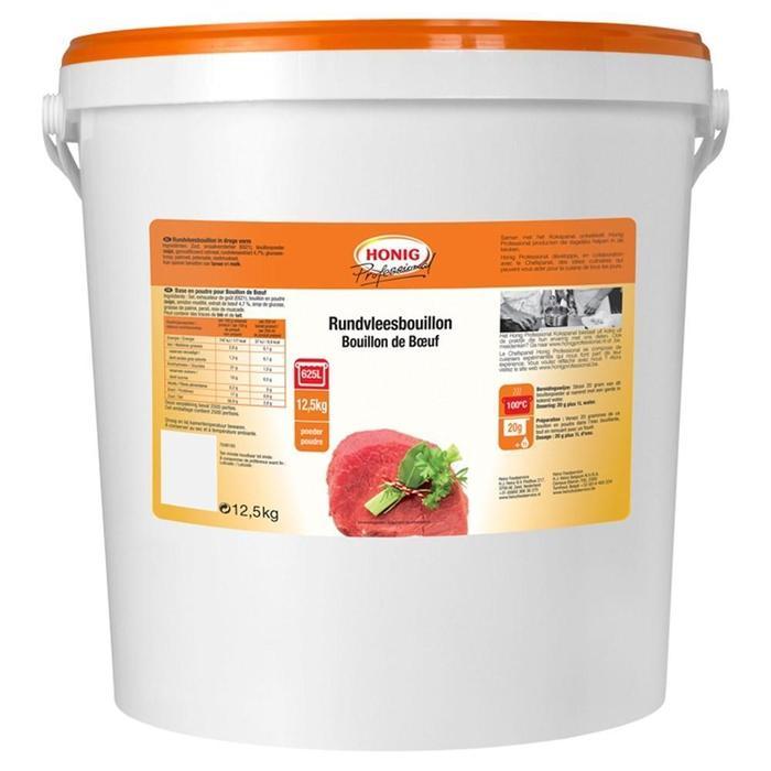 Honig Professional Rundvleesbouillon 12.5 kg Emmer (12.5kg)
