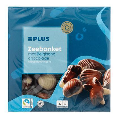 Belgisch zeebanket Fairtrade (250g)