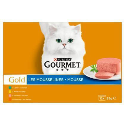 Gold fijne mousse (12 × 85g)