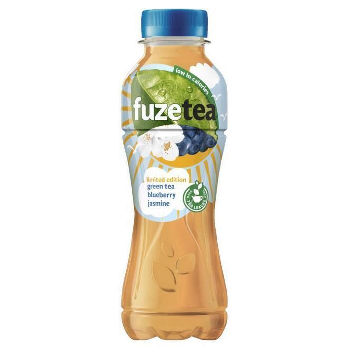 FuzeTea Green Tea Blueberry Jasmine Limited Edition 400 ml (rol, 40cl)
