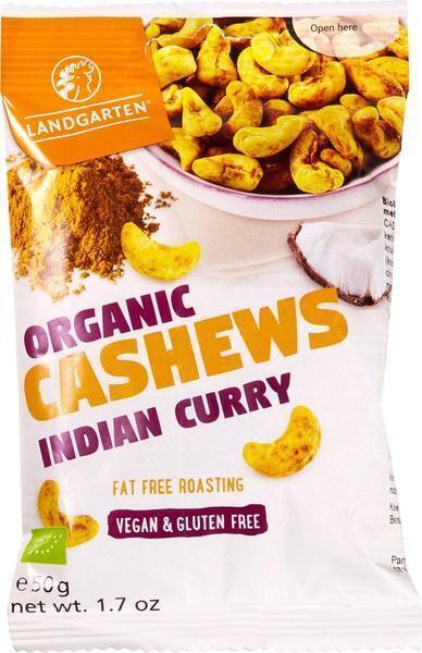 Cashewnoten Indian Curry (50g)