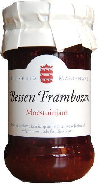 Bessen Frambozen Moestuinjam (370g)
