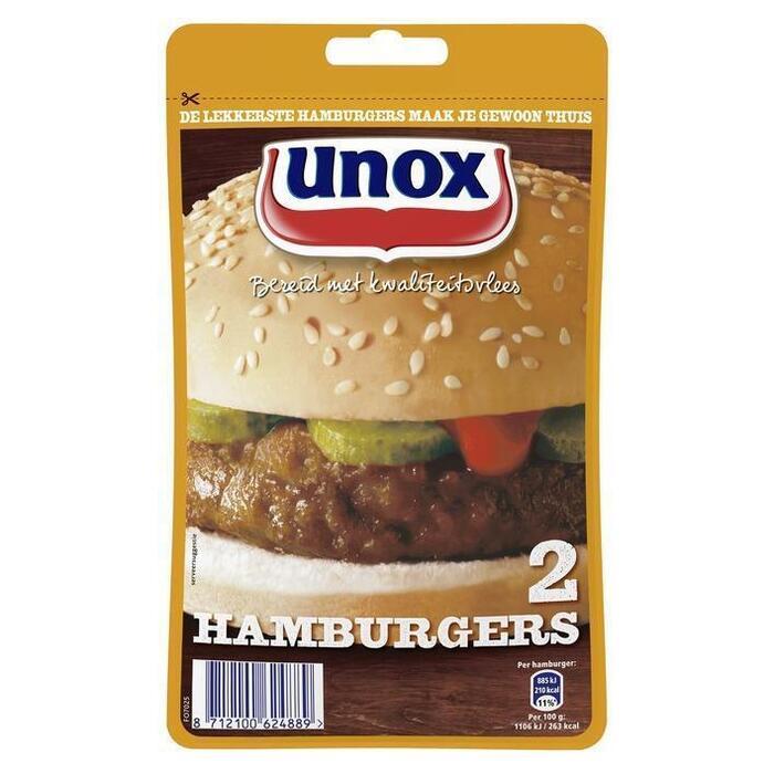 Hamburgers (zak, 2 stuks) (2 × 80g)