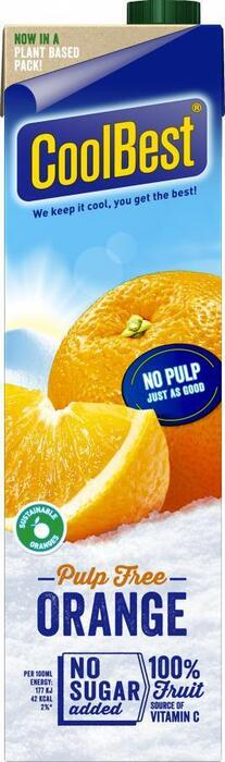 Pulp Free Orange (Stuk, 1L)