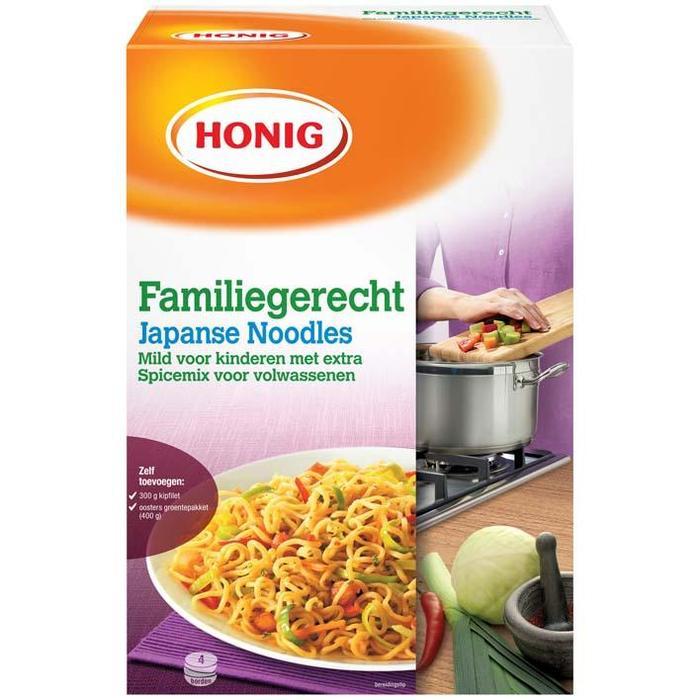 Familiegerecht Japanse noodles (Doos) (325g)