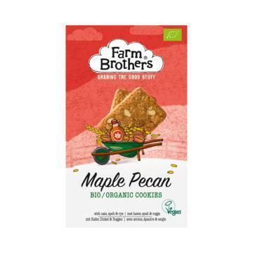 Farm Brothers Organic & Vegan Maple Pecan Cookies 150 g (150g)