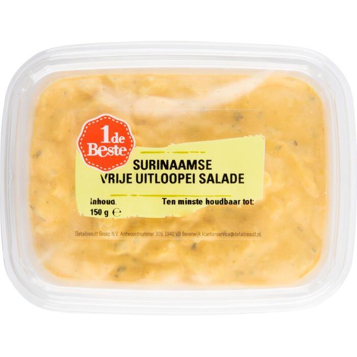 Surinaamse scharrelei salade (150g)