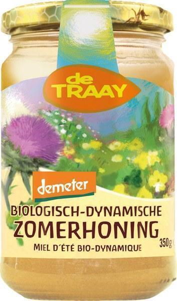 Bloemenhoning (crème) (350g)