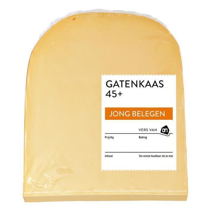 AH Gatenkaas 45+ stuk (465g)