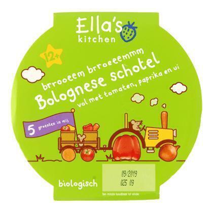 Ella's Kitchen Bolognese schotel 12+ mnd (stuk, 200g)