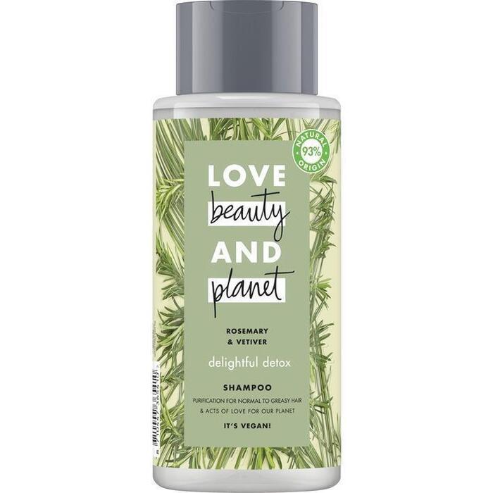 Love Beauty Planet Rosemary & vetiver shampoo (40cl)