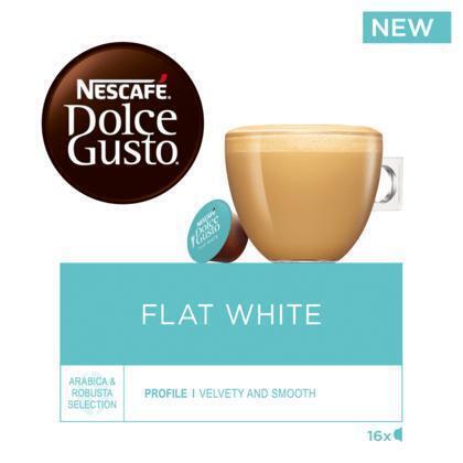 Nescafé Dolce Gusto Flat white koffie cups (16 × 11.7g)