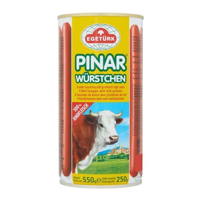 Egetürk Pinar Rundvleesworsten met Melkeiwitten 6 Stuks 550g (550g)