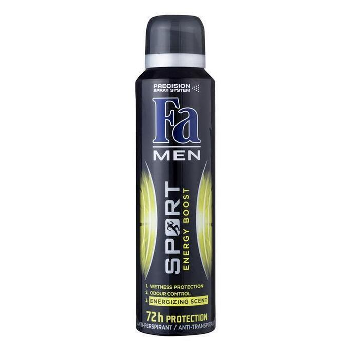 Fa Deospray for men sport double power 72hr (150ml)