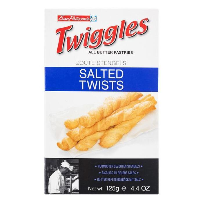 Twiggles Zoute Snack (125g)