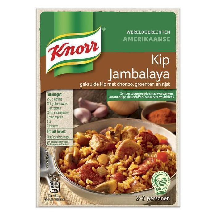 Knorr Wereldgerechten jambalaya (246g)