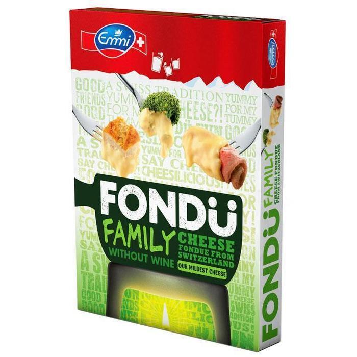 Fondue Family (doos, 400g)