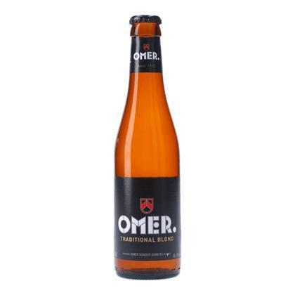 OMER TRADITIONAL BLOND BIER 33CL FLES (rol, 33 × 33cl)