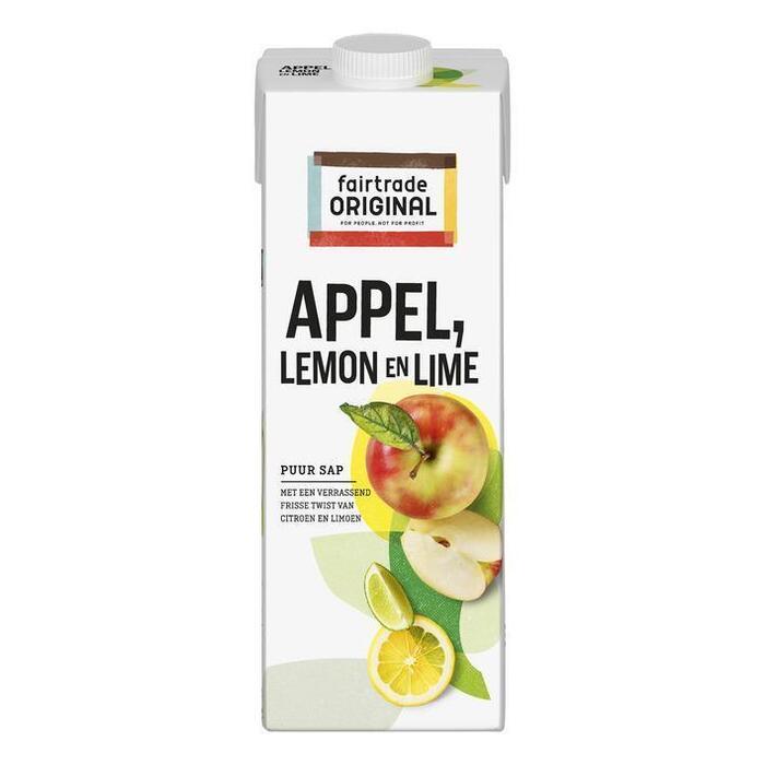 Appel Lemon & Lime (pak, 1L)