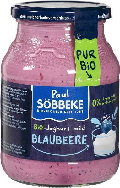 Pur Bio Yoghurt Bosbes (500g)