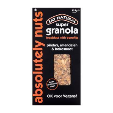 Super granola absolutely nuts (425g)