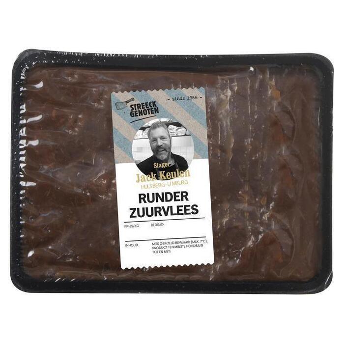 Keulen Limburgs runderzuurvlees (500g)