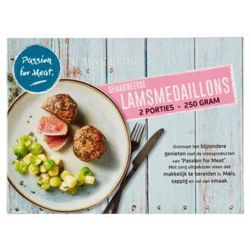 Passion for Meat Gemarineerde Lamsmedaillons 250 g (250g)