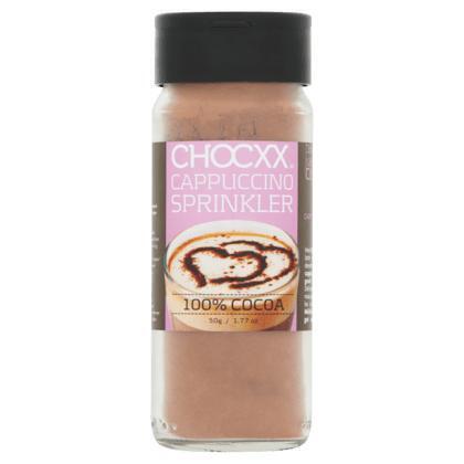 Cappuccinostrooier 100% cacao (50g)