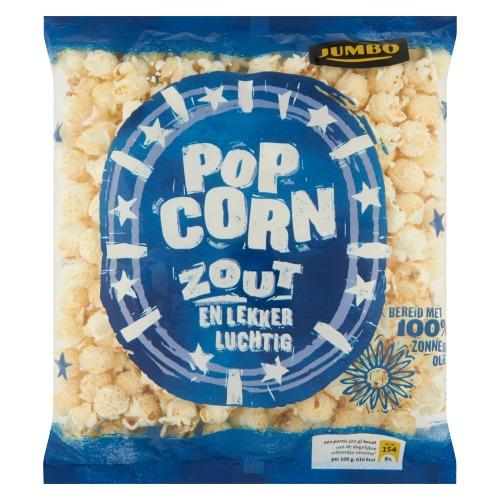 Jumbo Popcorn Zout 100g (100g)